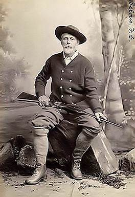 Frederick Courtney Selous was one of the Africa's finest hunters.