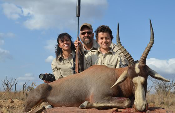 A family hunting experience in South Africa.