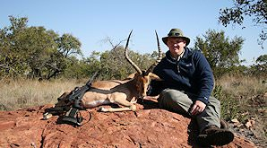 Impala are a hunting staple in Southern Africa.