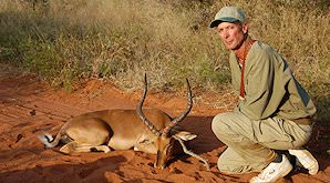 Most hunters will leave Africa having hunted an impala.