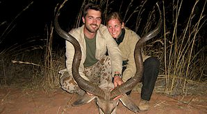 A kudu hunt in South Africa.
