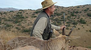 A mountain reedbuck hunting safari.