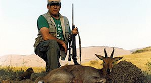A mountain reedbuck hunt.