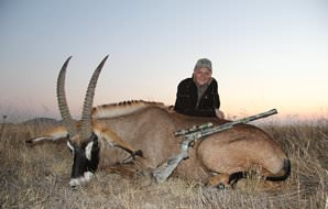 A late afternoon roan antelope hunt.