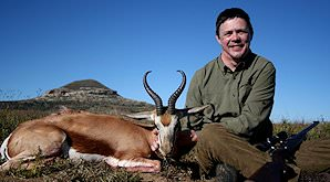 A springbok hunt in South Africa.