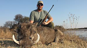 A warthog hunt in South Africa.