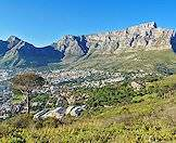 Cape Town's iconic Table Mountain.