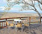 Olifants Camp is perched high above the Olifants River.