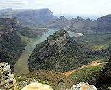 The Blyde River Canyon is the largest canyon in South Africa.