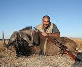 Use heavy-for-caliber bullets when hunting black wildebeest.