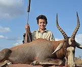 Blesbok are ideal for novice hunters.