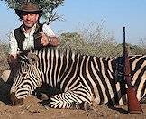 Burchell's zebra is readily available for hunting on most hunting concessions.