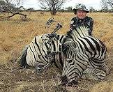 Bowhunt zebra with ASH Adventures.