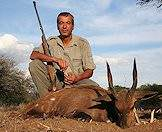 A bushbuck hunt in South Africa.