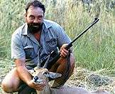 The common reedbuck is hunted in the Free State and the Eastern Cape.