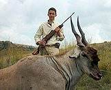 An eland hunted in the eastern Free State province.