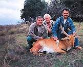 A red lechwe hunt many years ago.