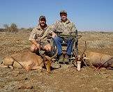 Impalas and blesbok are popular plains game trophy inclusions.