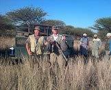 Guinea fowl are amongst the birds that can be taken on a wing shooting safari.